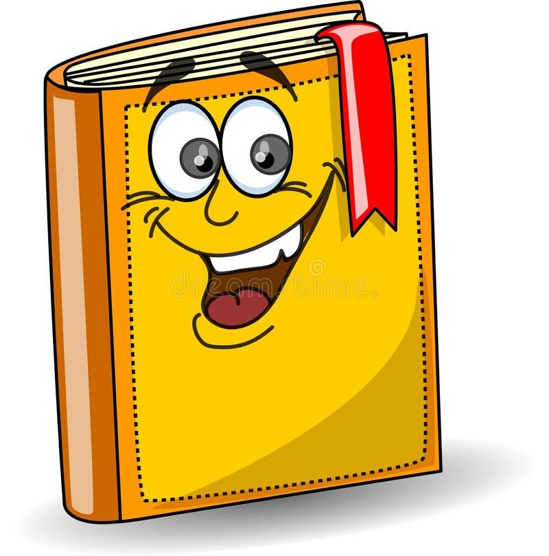 Livre d'école de dessin animé, vecteur illustration de vecteur