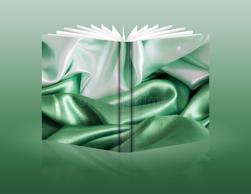 Livre d'un tissu de fond illustration de vecteur