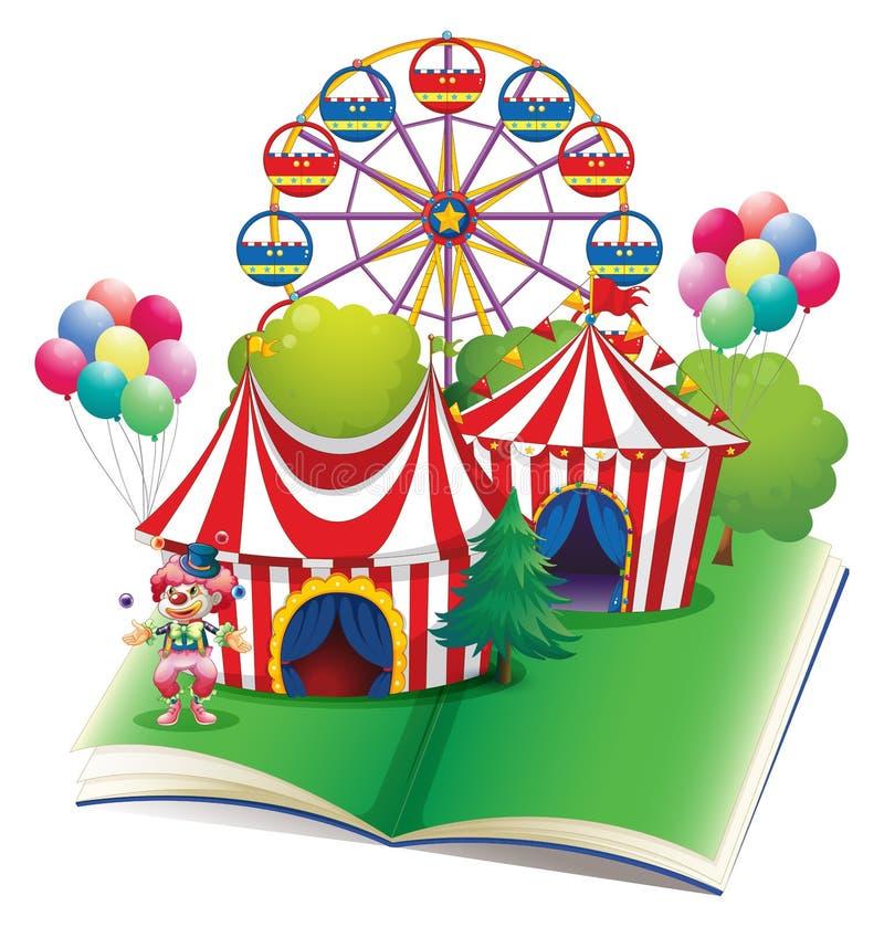 Livre de cirque illustration libre de droits