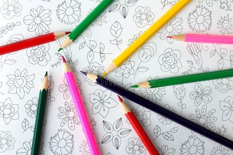 Livre de coloration image stock