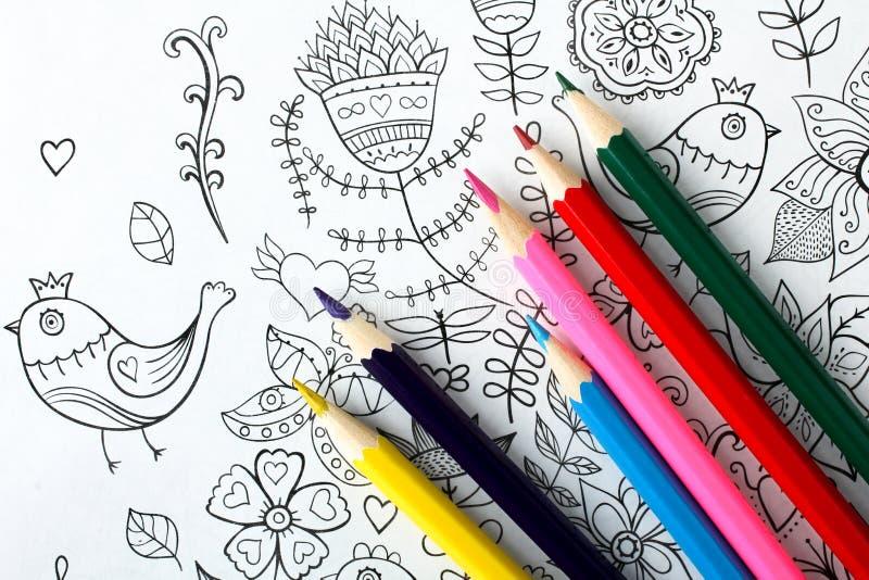 Livre de coloration images stock