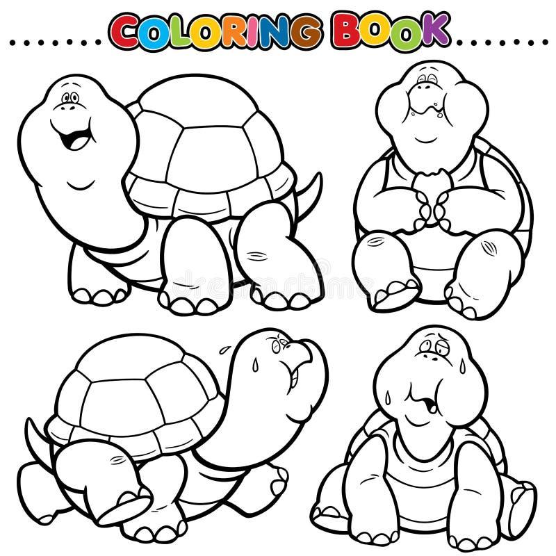 Livre de coloration illustration libre de droits