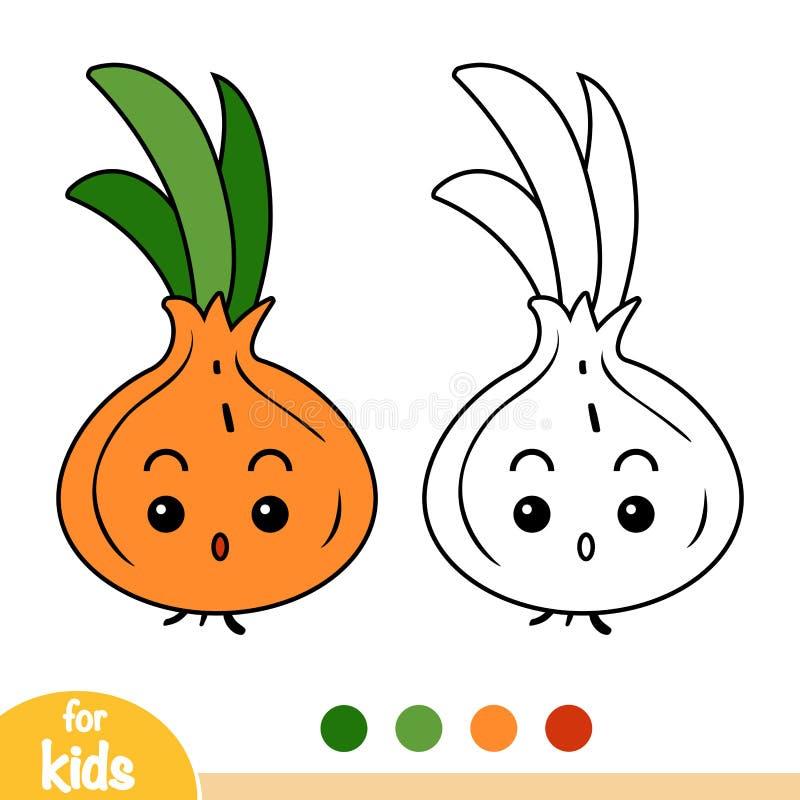 Coloriage Pomme Et Oignon Dessin Anime.Oignon Stock Illustrations Vecteurs Clipart 40 375