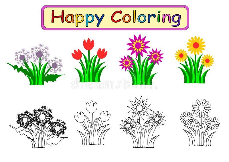 Livre de coloriage pour des enfants illustration stock
