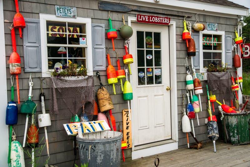 Livre de homard de la Nouvelle Angleterre photographie stock libre de droits