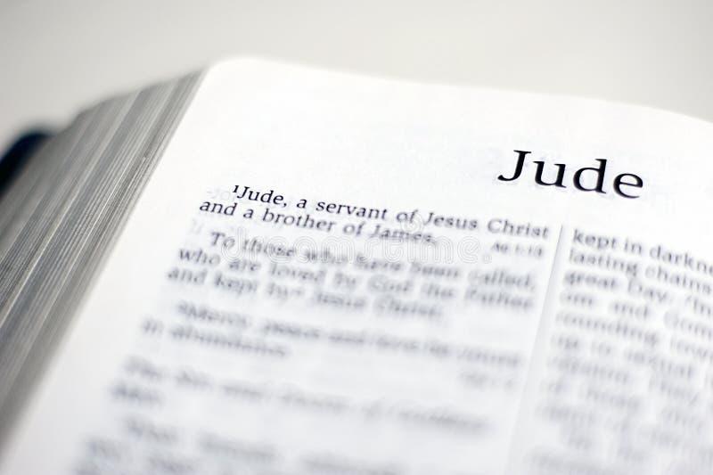Livre de Judas photographie stock