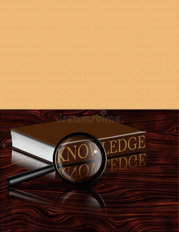 Livre de la connaissance illustration de vecteur