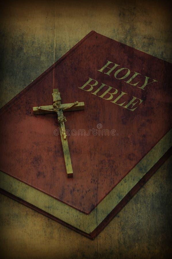 Livre de Sainte Bible image stock
