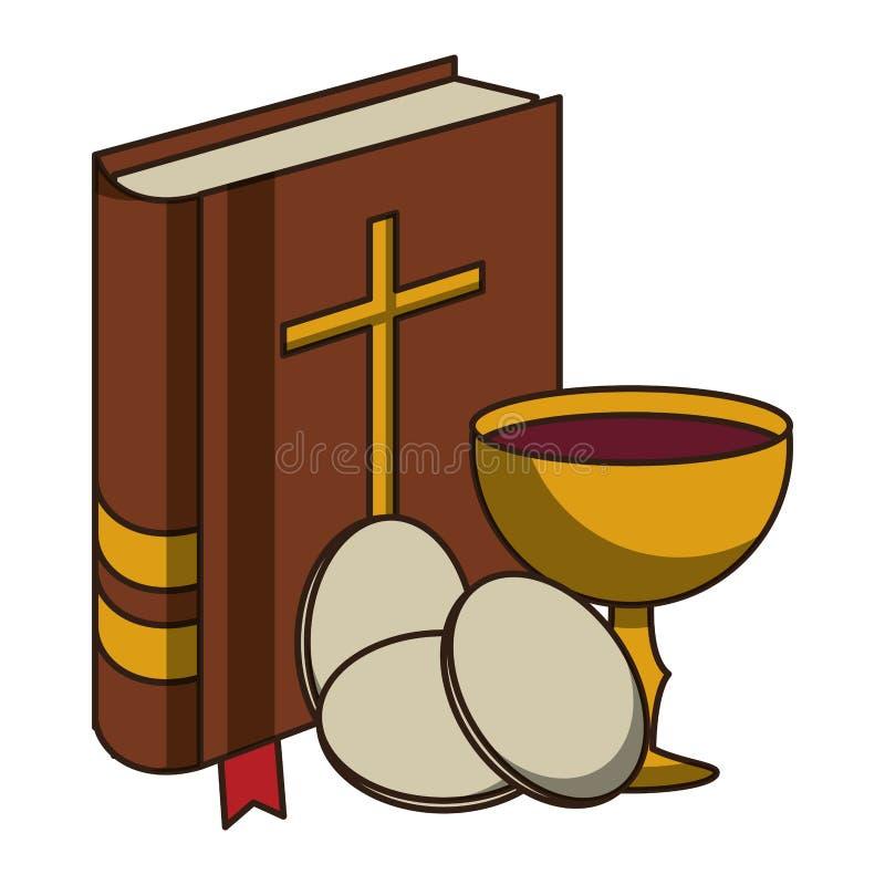 Livre de Sainte Bible illustration libre de droits