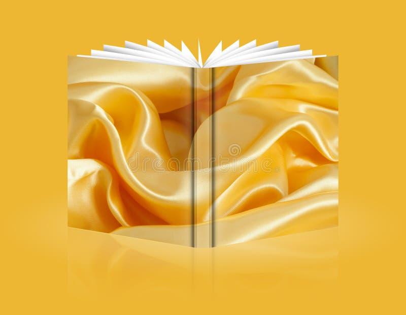Livre de tissu de fond illustration libre de droits