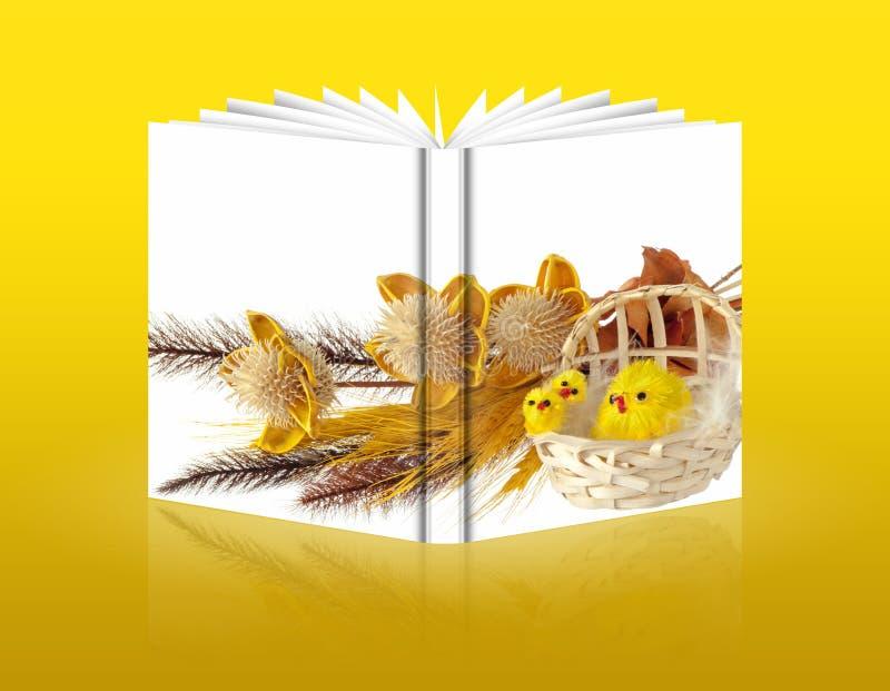Livre des décorations de Pâques illustration stock