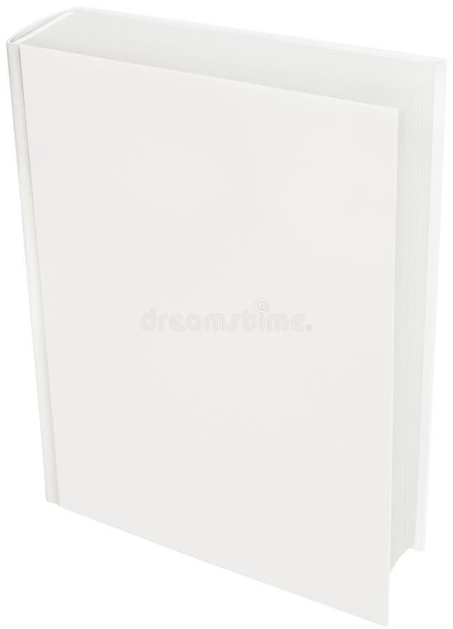 Livre dur blanc de cache photo stock
