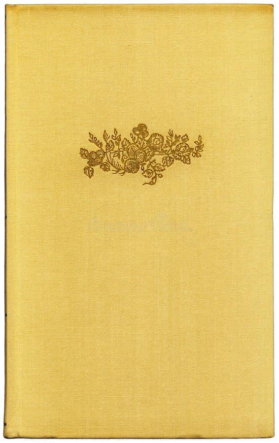 Livre jaune XXL de cru illustration de vecteur