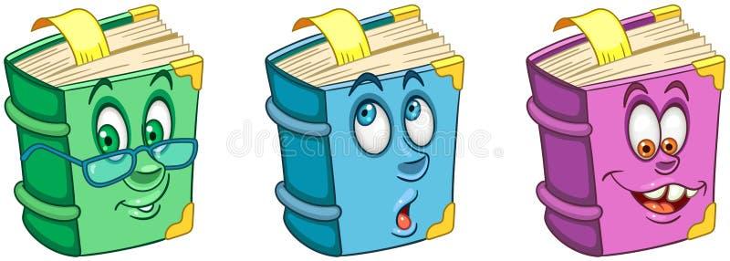 Livre manuel Concept d'éducation d'école illustration libre de droits
