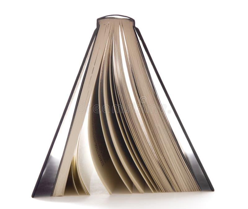 Livre noir upside-down photographie stock libre de droits