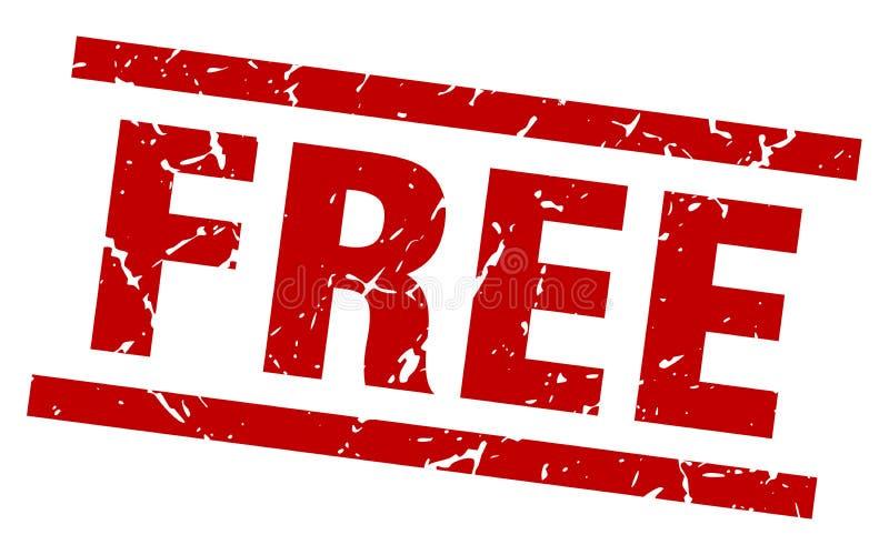 Livre o selo ilustração royalty free