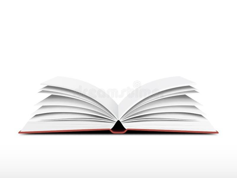 Livre ouvert illustration libre de droits