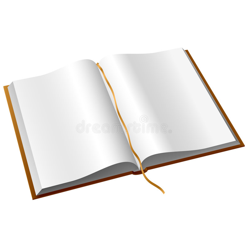 livre ouvert illustration de vecteur