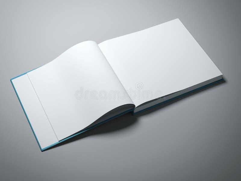 Livre ouvert avec les pages blanc photographie stock libre de droits