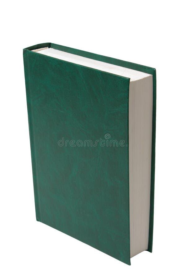 Livre vert blanc photographie stock