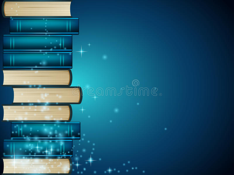 Livres illustration stock