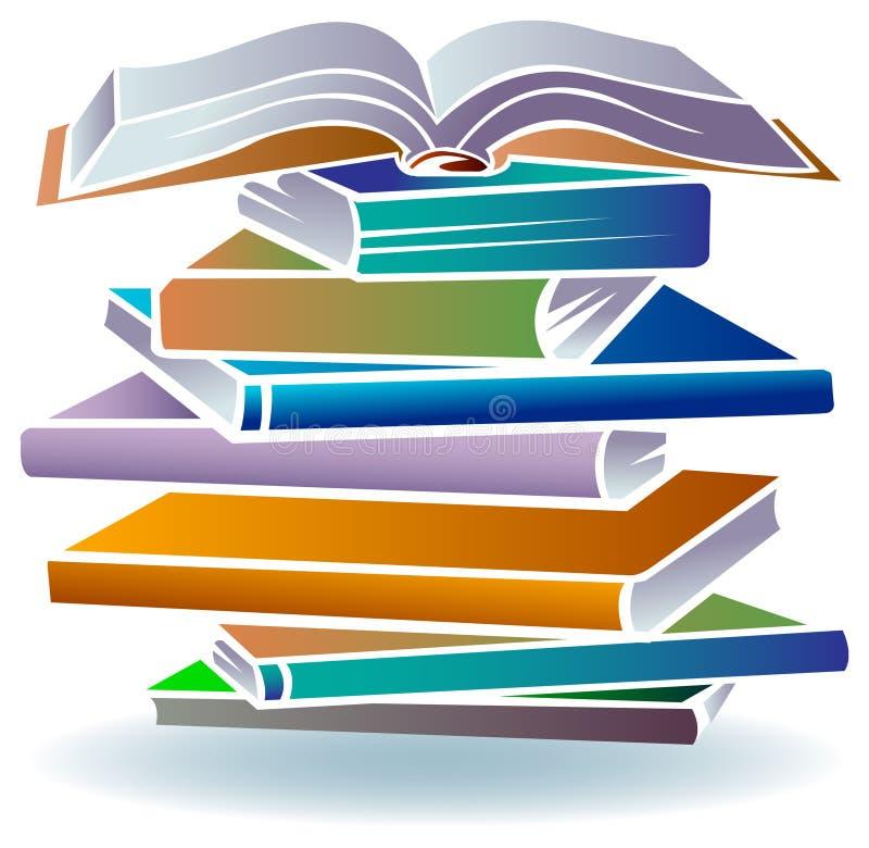 Livres illustration stock