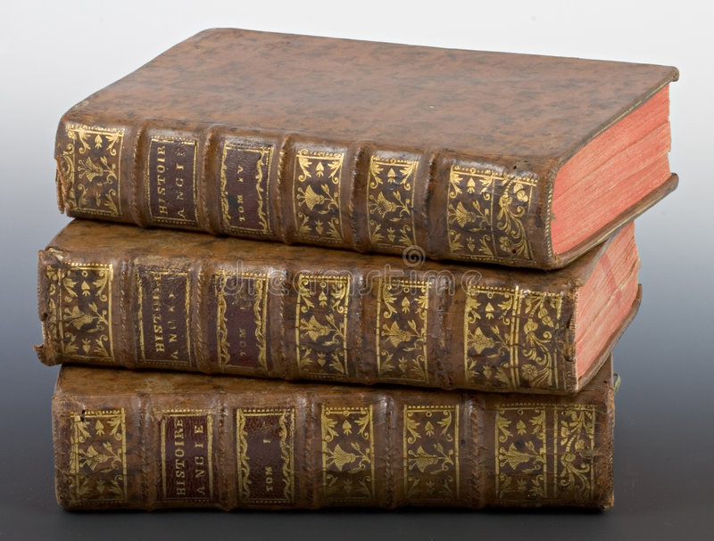 Livres antiques photos libres de droits