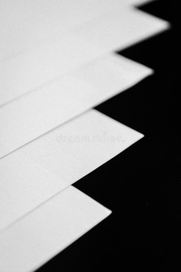 Livres blancs image stock