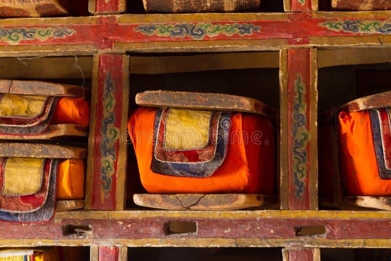 Livres bouddhistes sacrés photos stock
