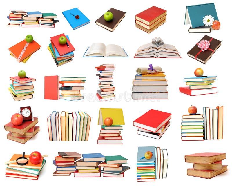 Livres colorés illustration de vecteur
