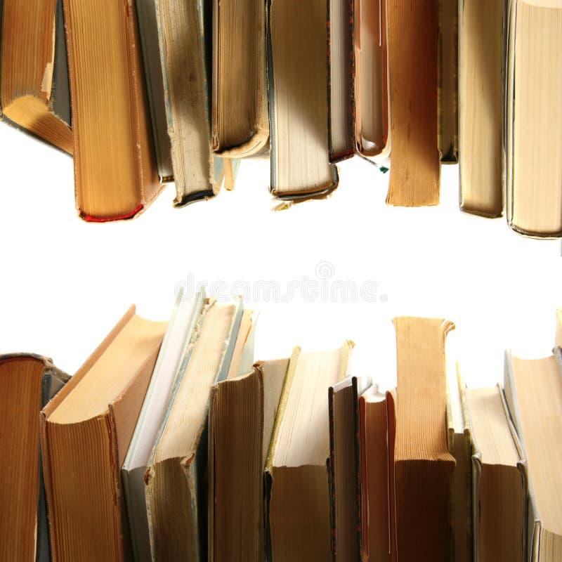 Livres dans une ligne photo stock