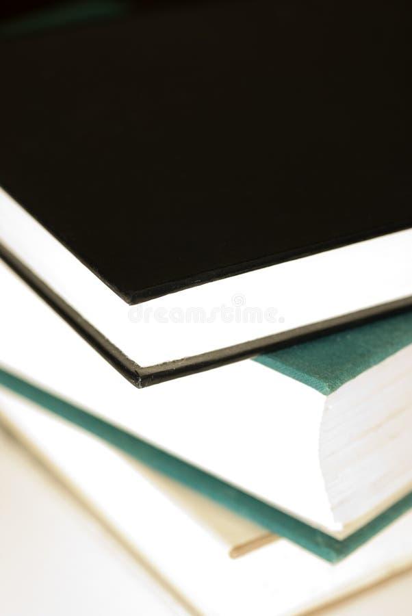 Livres de livre À couverture dure image stock