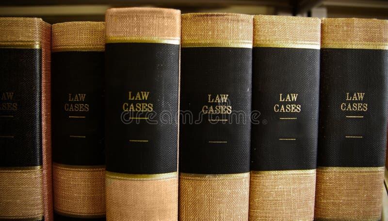 Livres de loi photographie stock libre de droits