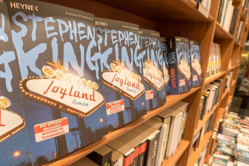 Livres de Stephen King image libre de droits