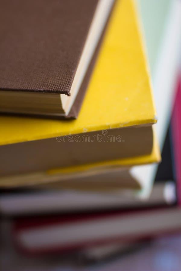 Livres et manuel photo stock