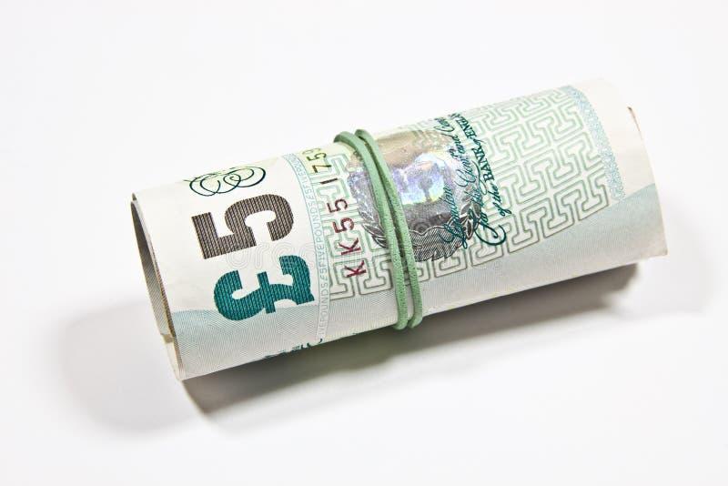 Livres sterling anglaises d'argent photos libres de droits