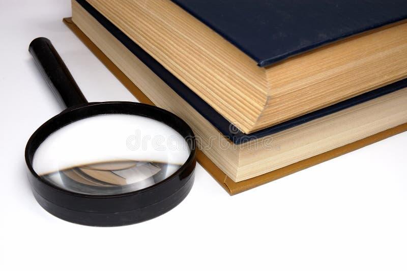 Livres sur une table. photographie stock