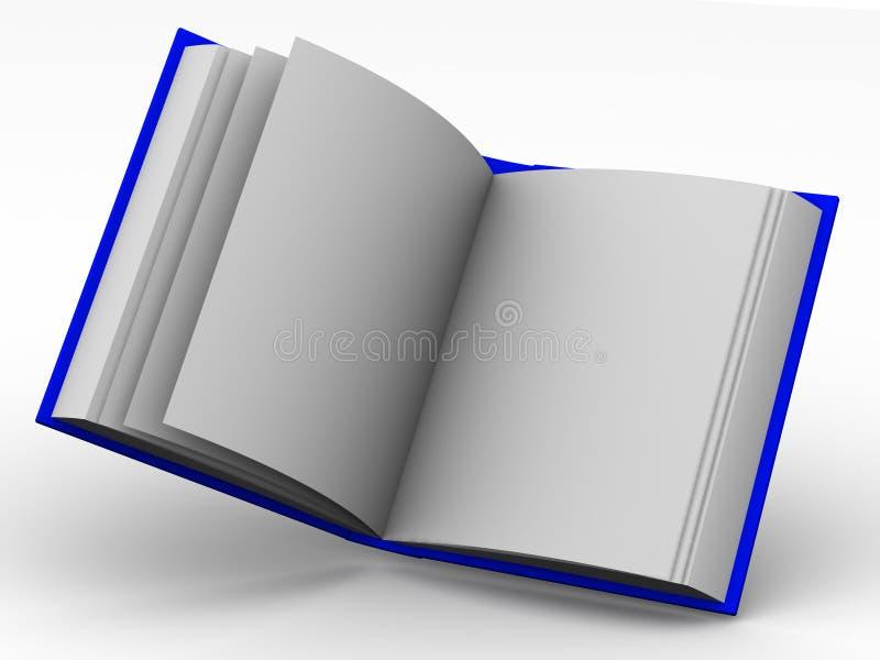 Livro ilustração royalty free