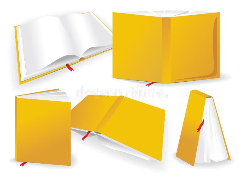 Livro ilustração do vetor