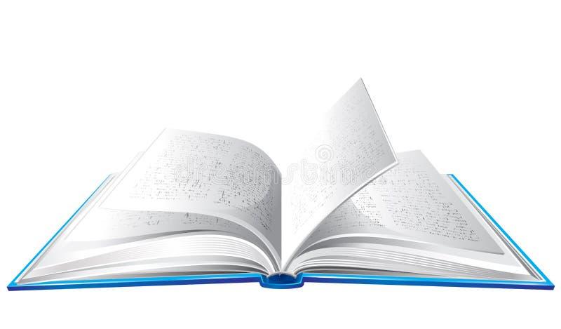 Livro aberto ilustração stock