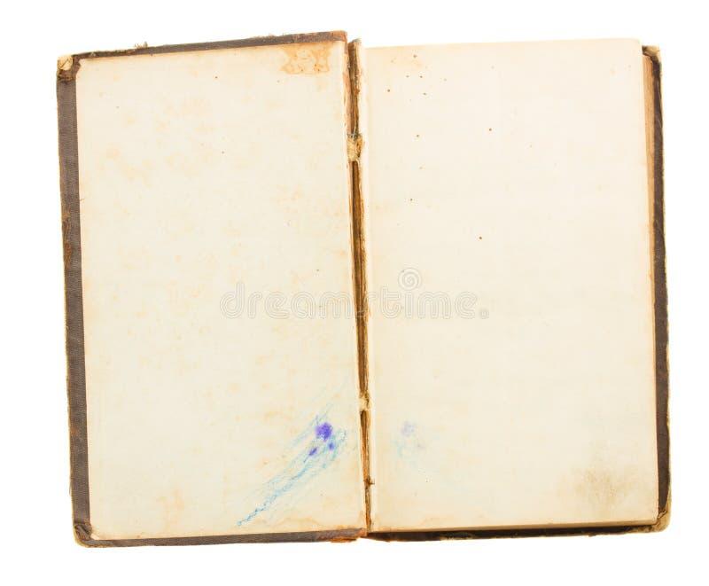 Livro aberto velho fotos de stock