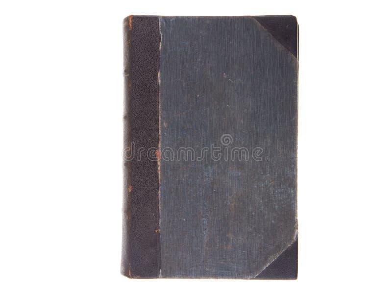 Livro antigo velho isolado no fundo branco imagem de stock royalty free