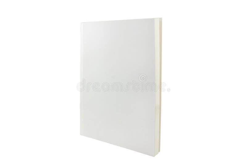 Livro branco imagem de stock royalty free