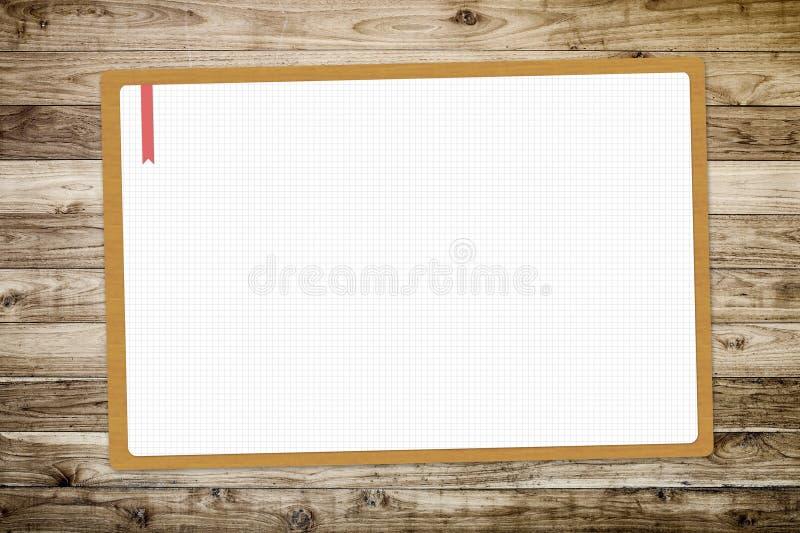 Livro Branco do desenho vazio foto de stock royalty free