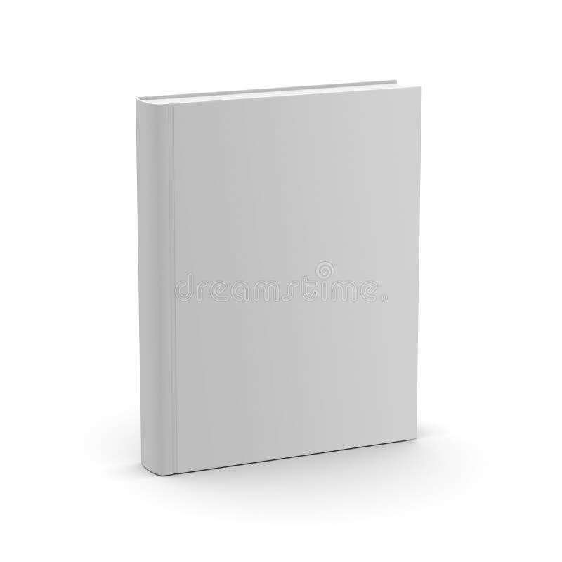 Livro branco vazio ilustração royalty free