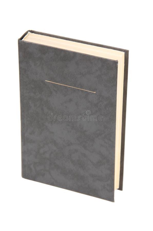 Livro cinzento em branco imagem de stock royalty free