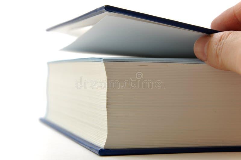 Livro da abertura foto de stock royalty free