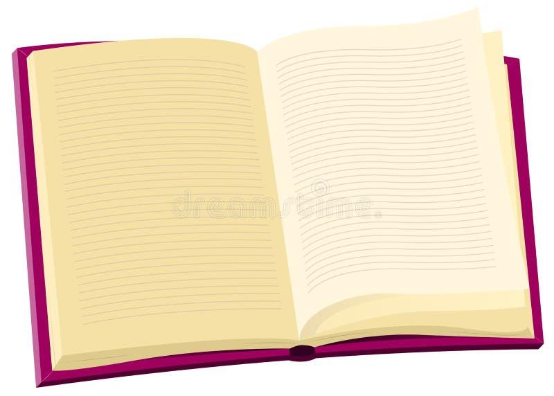 Livro da enciclopédia ilustração royalty free