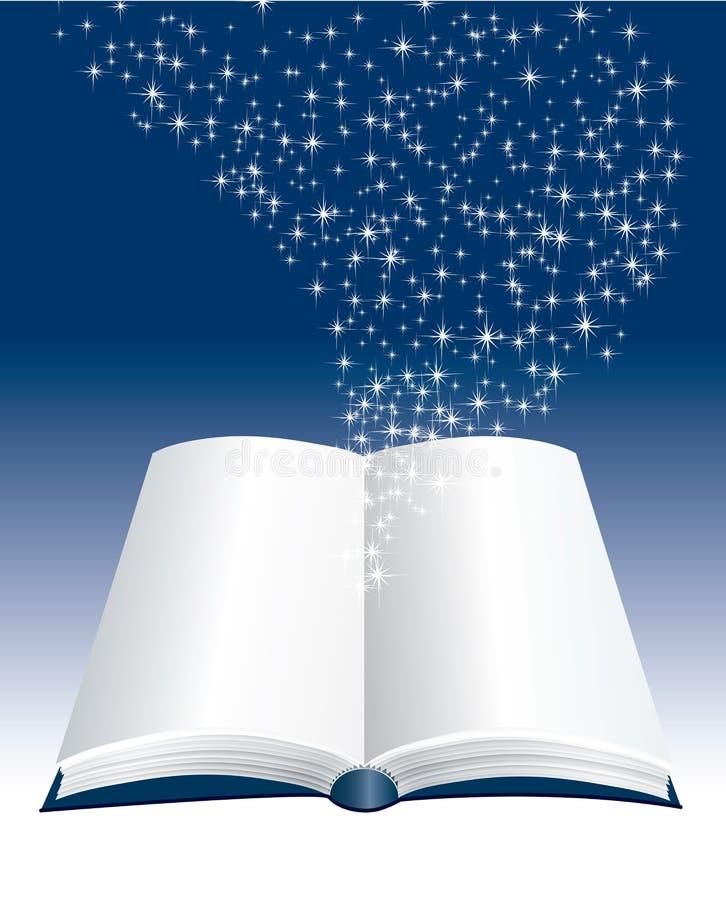Livro das estrelas ilustração do vetor