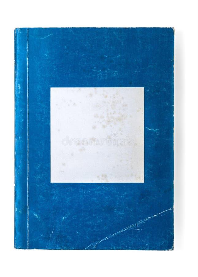 Livro de bolso azul velho fotografia de stock royalty free